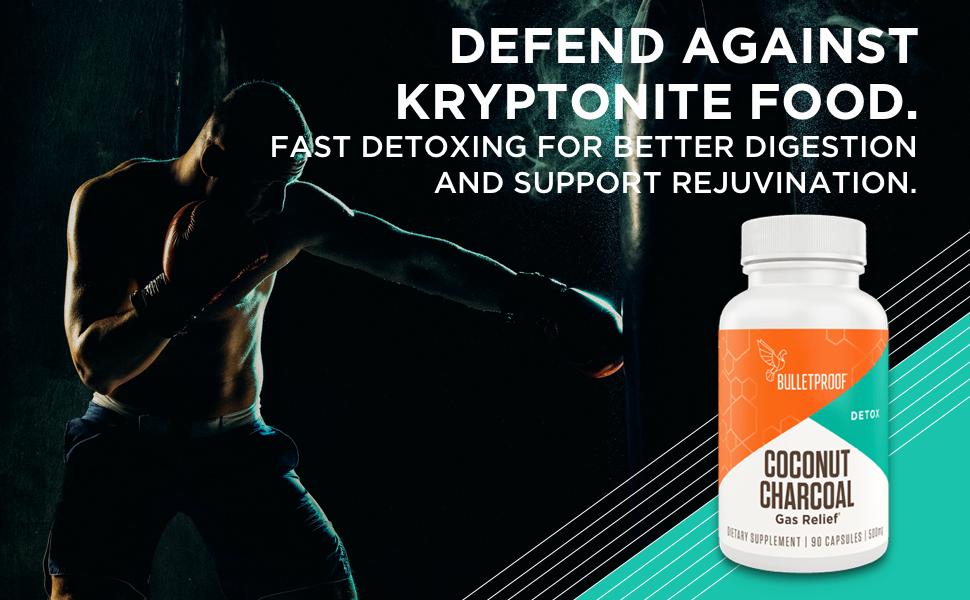 kryptonite food detox supplement health gut health probiotic immune support system