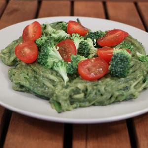 3) Miracle Trees Moringa-Pesto Zucchini Noodles