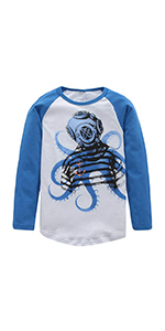 01f77a0a353e Boys Long Sleeve Cotton T-Shirts Fire Truck Cartoon Shirt Graphic Tees · Boys  Cotton Long Sleeve T-Shirts Robot Shirt Graphic Tees · Boys Dinosaur T  Shirts ...