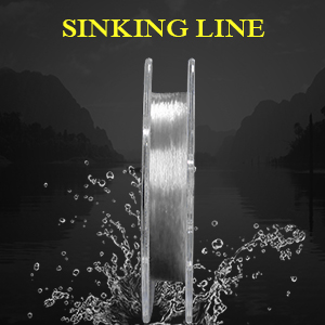 YUKI /'INVISIBLE LEADER/' Fluorocoated  Fishing Line 40m 100m Sea Fishing