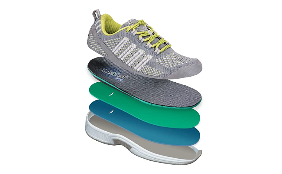 Amazon com: Orthofeet Comfort Plantar Fasciitis Shoes for