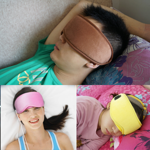 where to use the eye mask
