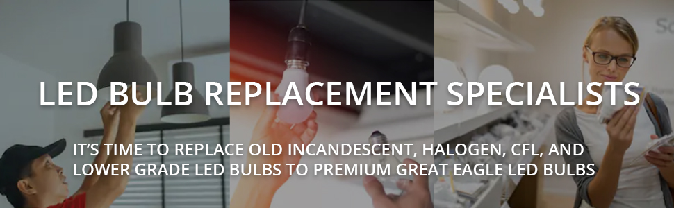 LED bulbs replacement