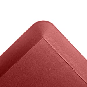 b6bc75f1a67d Kitchen Anti Fatigue Mat Standing Desk Mat - SoftSaver 20 x 42 Inches -  Floor Mat Sit Stand Workstation Office Floor Mats - Non-Slip Grip Red Mat