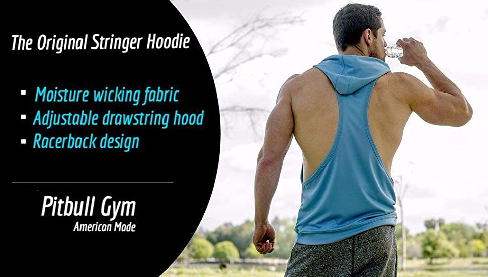 Made in The USA Driwear Stringer Hoodie