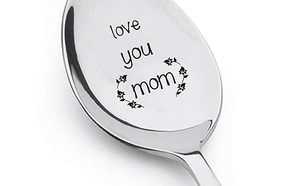 Love You Mom Spoon