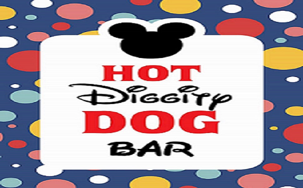 photo relating to Hot Diggity Dog Bar Free Printable identify Mickey Mouse Bash elements Mickey Mouse Clubhouse motivated Doorway Indication  Incredibly hot Diggity Doggy Bar Social gathering Indication - 8 x 10 dimensions - Released inside of Card Inventory