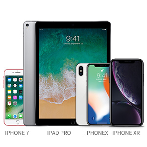 smart phones and iPads, to show the product is compatible with those devices