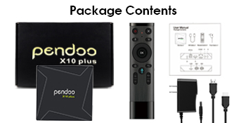 pendoo X10 Plus Android TV Box 8 - Some files not supported