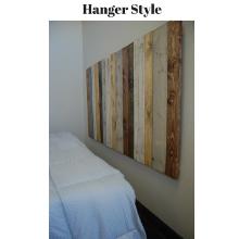 Hanger, rustic mix, headboard