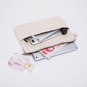 gold wristlet purse