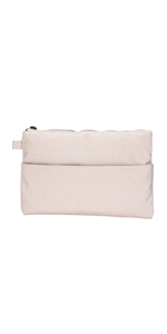 Crest Design Cute Canvas Smartphone Wristlets Cash Coin Purses, Make Up Bag, Cellphone Clutch Purse