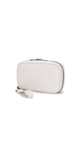 Women Wallet Card Case Leather Clutch Wallet Zipper Pocket Wristlet