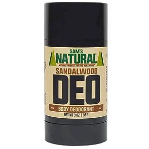 Sam's Natural Deodorant Sandalwood