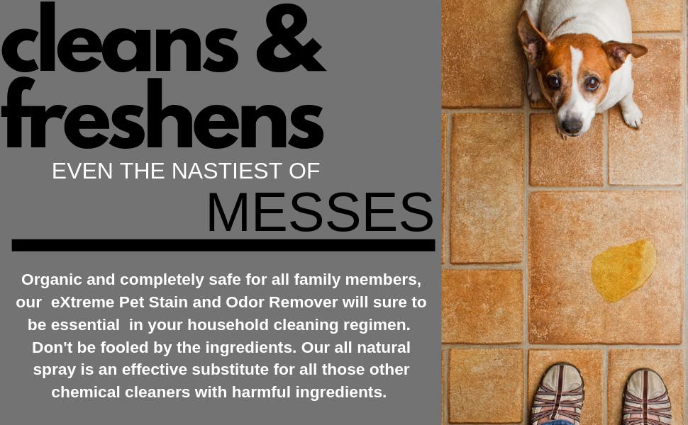 No more mess and no more smell