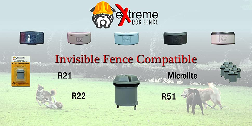 invisible fence batteries for invisible fence dog collar r21 r22 r51 microlite ebay. Black Bedroom Furniture Sets. Home Design Ideas