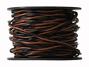 16 gauge extreme dog fence twisted wire prevents you from having to create your own from your spool of boundary wire