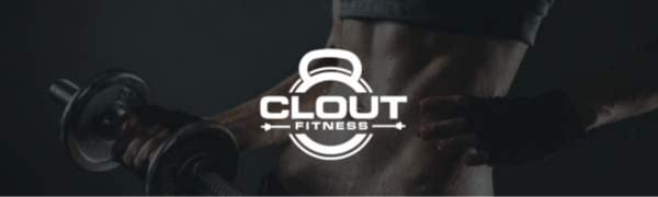 logo clout fitness barbell clamps