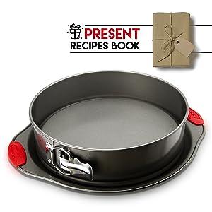 Amazon Com Non Stick Springform Pan By Boxiki Kitchen 2