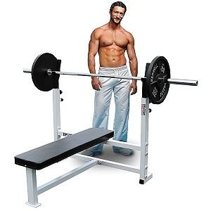 flat olympic bench