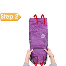 foldable duffel bag