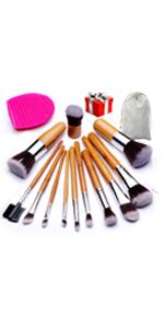 Amazon Com Beakey Makeup Brush Set Premium Synthetic