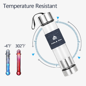 Amazon.com: Botella de agua hermética con infusor de ...