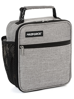 Insulated Lunch Box Grey