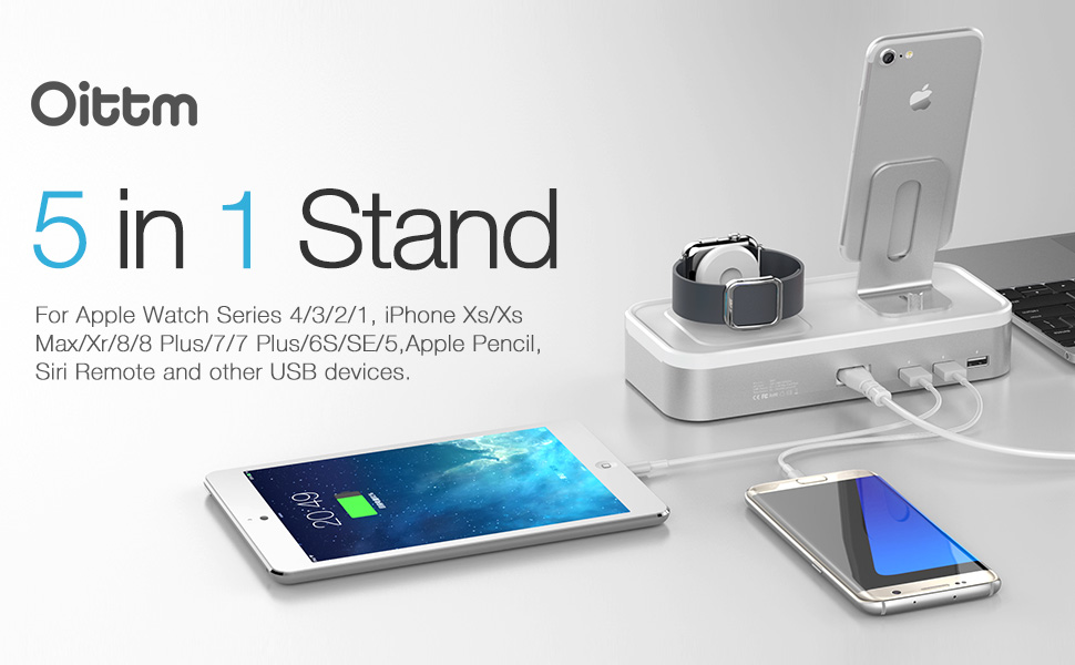 Amazon.com: Charging Stand for Apple Watch Series 4, Oittm