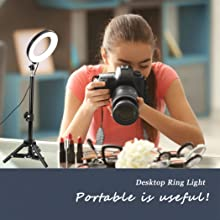 desktop ring light