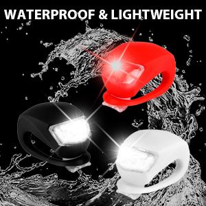 waterproof bike light