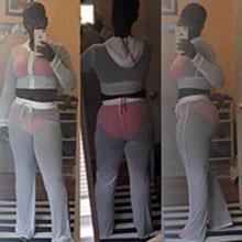 Hoodied crop top and pants bikini cover ups