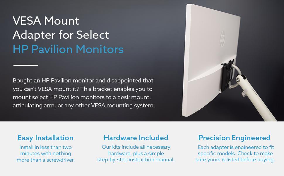 Amazon Com Vesa Mount Adapter For Hp Pavilion 27xw 25xw