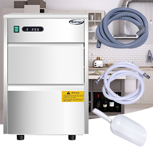 COSTWAY Commercial Ice Machine, free shipping
