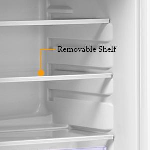 removable shelf