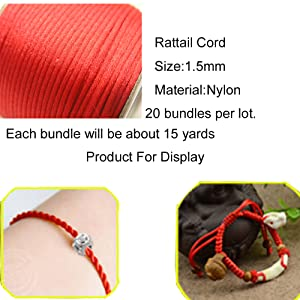 e78895b11b7 Amazon.com  Pamir Tong Full-Colors 20bundles 300 Yards 1.5mm Satin ...