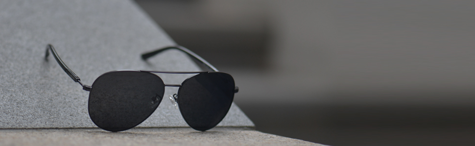 fashion polarized aviator sunglasses for men