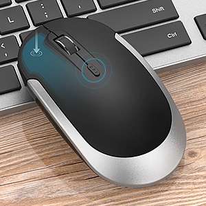 Wireless Mouse with Adjustable DPI