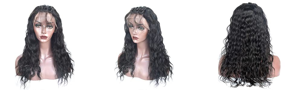 Water wave human hair lace wigs full lace human hair wigs full lace wigs human hair
