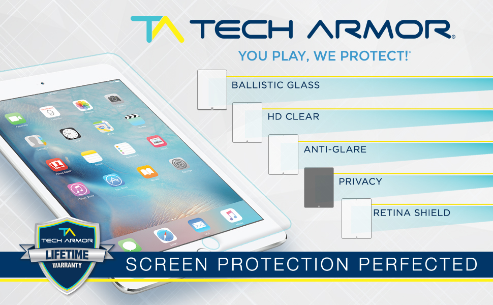 HD Clear Flexible Screen Protector Guard Shield Armor For iPad Mini 3 2 1