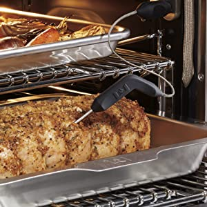 wolf gourmet oven Integrated Temperature Probe
