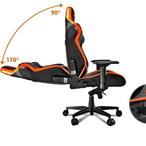 Cool Details About Cougar Armor Titan Ultimate Gaming Chair With Premium Breathable Pvc Leather Machost Co Dining Chair Design Ideas Machostcouk