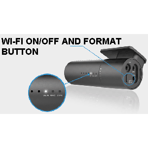 wifi on off format button