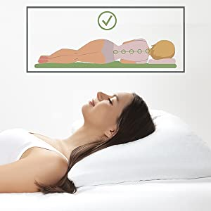 Shredded Hypoallergenic Memory Foam Pillow For Home & Hotel Washable Removable Cooling Bamboo