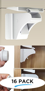 Cabinet Locks - Baby Proofing Safety