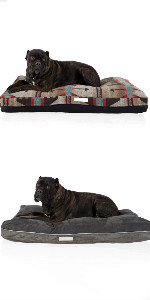 Orthopedic double pillow dog bed, Orthopedic memory foam dog bed, Double-side dog bed, Cat bowl, Cat toy