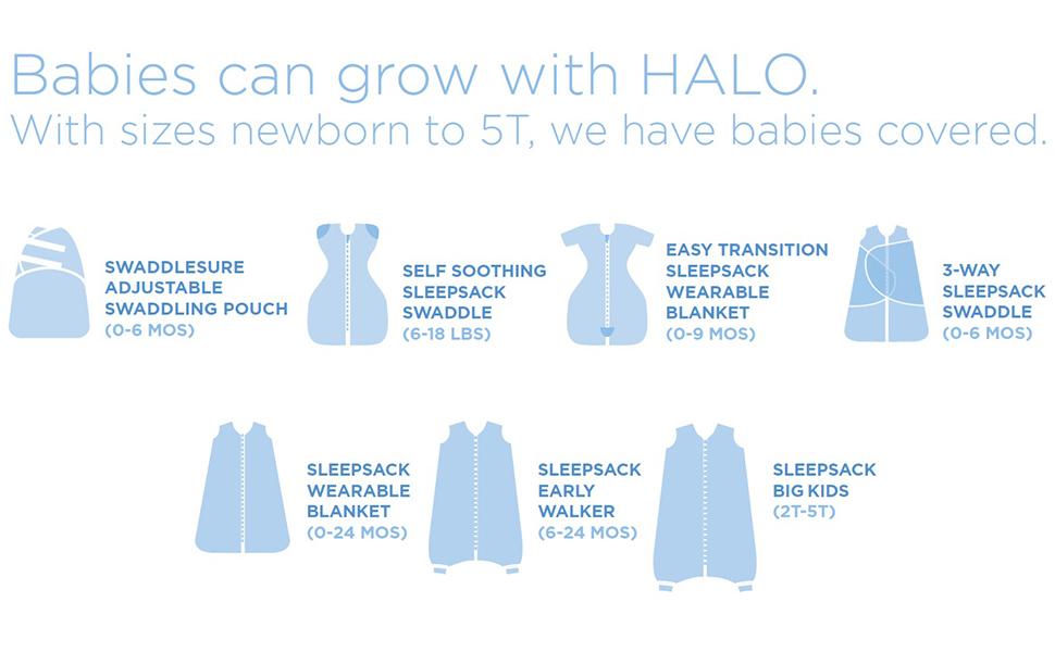 Halo Sleepsack 100 Cotton Swaddle Navy Hedgehog Newborn