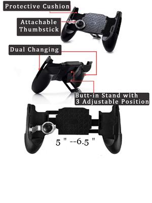 Kickstand PUBG game controller