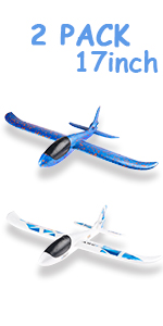 2 Pack 17inch Airplane