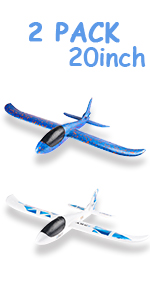 2 Pack 20inch Airplane